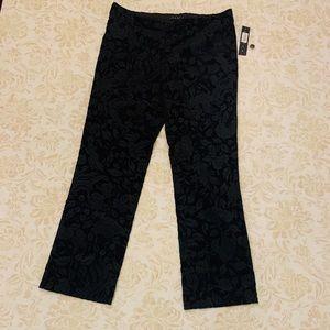 Straight Trouser Velvet Pants